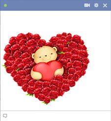 Valentine Teddy Bear for Facebook