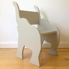 CHILD'S ELEPHANT ANIMAL CHAIR- $250 - in my dream room but how amazing it would be