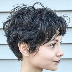 13. Short Curly Hairstyle