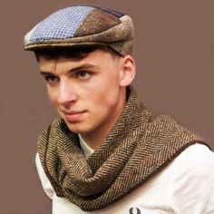 Traditional Classic Patch Flat Cap for the Country Gent in bright colours. Handmade to order with different pieces of fabric creating a unique patch cap. All Jonathan Richards caps are made to the highest standards of craftmanship. Flat Cap, Irish, Patches, Fashion, Moda, Pillbox Hat, Irish Language, Fashion Styles, Ireland