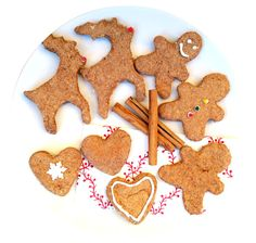 Galletas de navidad saludables (sin azúcar)