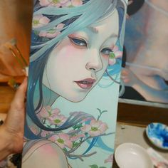 It will be completed soon #mihohirano  #oilpainting