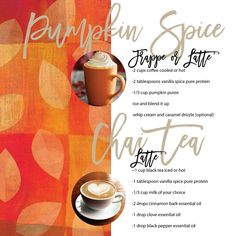 Young Living Pure Protein Complete—Vanilla Spice powder!  Yum!