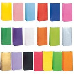 PAPER-PARTY-LOOT-TREAT-GIFT-SWEET-BAGS-20-COLOURS-AVAILABLE