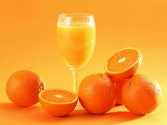 Orange Juice... Perfect way to start the day!!