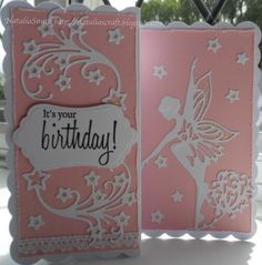 Tonic Fairy dies Girl Birthday Cards, Birthday Cards For Women, Tonic Cards, Tattered Lace Cards, Paper Butterflies, Die Cut Cards, Paper Cards, Kids Cards, Hobbies And Crafts