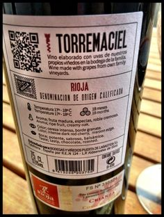 El Alma del Vino.: Bodegas Torremaciel Crianza 2009.