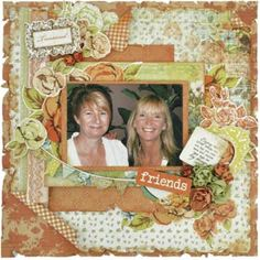 KaiserCraft - Marigold collection - Friends General Crafts, Graphic 45, Marigold, Craft Items, Scrapbooking Layouts, Embellishments, Projects To Try, Lay Outs, Paper
