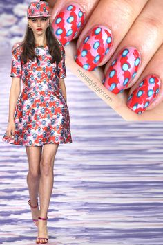 MANICURE MUSE: House of Holland Spring '14