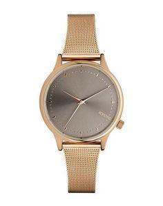 KOMONO Women's Wrist watch Copper -- --