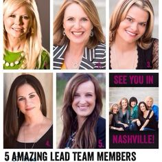 "Day 5 of our countdown and we have ""5 Amazing Lead Team Members who serve us well"" #countdowntoretreat #LeadingAndLovingIt #jessicacornelius #brandiandboys #tiffanymcooper #lisahughes_fl and #lori_wilhite Thanks for all you do!"