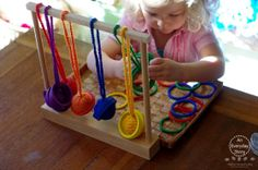 Spielgaben Colour Sorting and Fine Motor Skills - An Everyday Story Thoughts on Learning Maths