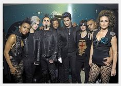 Adam Lamberts Band: Sasha Mallory, Tommy Joe Ratliff, Monte Pittman, Longineu Parsons, Adam Lambert, Camila Grey, Terrance Spencer, Brooke Wendle. <3