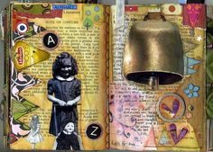 love her work!  Journal - 36 by Phizzychick!, via Flickr