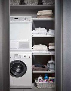 Bagno piccolo con lavatrice (Foto 17/40) | Designmag