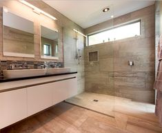 New Home Builders, Home Hacks, Showers, New Homes, Bathtub, Design Inspiration, Mirror, Bathroom, Tips