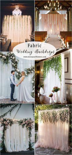 514 Best Wedding Backdrops Images On Pinterest Weddings