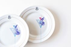 """plates   """"we are family"""" series of reunited, not new porcelain pieces by kollektiv plus zwei Create Your Own Website, We Are Family, Create Yourself, Porcelain, Plates, Tableware, Licence Plates, Porcelain Ceramics, Dishes"""