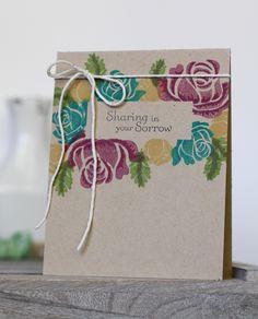 stephanie gold - papertrey ink rosie posie - stamped floral frames - goldensimplicity.com