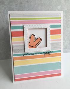Simon Says Stamp March Card Kit...A Couple Peeps!