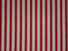 Exceptional Red Ticking Cotton Stripe Fabric   The Millshop Online #fabric #ticking # Curtains