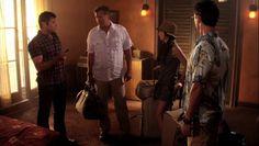 "Burn Notice 5x01 ""Company Man"" - Michael Westen (Jeffrey Donovan), Fiona Glenanne (Gabrielle Anwar), Sam Axe (Bruce Campbell) & Max (Grant Show)"
