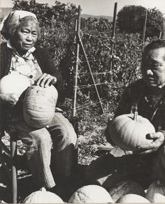 Filipinos in Ventura County Digital Image Collection Pauline and Paulino Talaugon at Their Farm in Carpinteria.