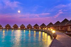 Most Beautiful Travel Destinations:  The Maldives is made up of 1,192 islands (200 of which are inhabited) located in the Indian Ocean. It is the smallest Asian country and also the flattest country in the world. Known for its crystal-clear water and colorful and varied marine life, the Maldives is definitely a beautiful escape.