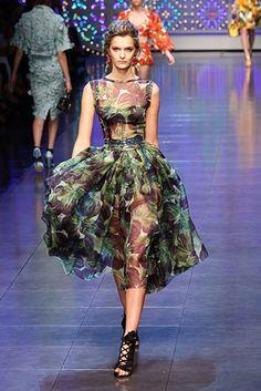 Milan Fashion Week 2011: Fruit, veg and micro-trends | Fashion | The Guardian