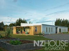 Wairarapa Affordable Shed conversion Rustic Shed, House Cladding, Garden News, House 2, Exterior Design, House Plans, New Homes, Home And Garden, Cottage