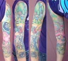 60 Tatuagens de Hora de Aventura