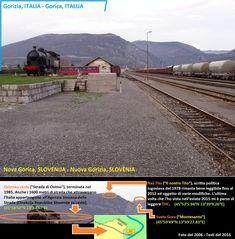 Confini amministrativi - Riigipiirid - Political borders - 国境 - 边界: 2006 / 2008 IT-SI Itaalia-Sloveenia Italia-Sloveni. Siena, Slovenia, Nova, Italia