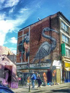 #streetart #Roa #London #BrickLane