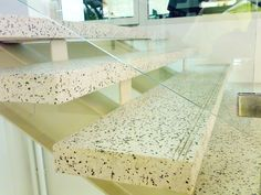 terrazzo steps