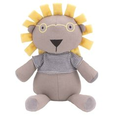 This toy will go perfectly if you have chose your colour scheme to be soft grey and sunny yellow.