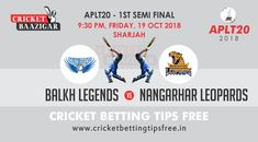 Today Cricket Baazigar Provide Match Prediction and Latest Cricket Betting Tips BL vs NL semi final. All fans of cricket can also get free updates on the page www. Cricket Tips, Cricket Match, Semi Final, Sharjah, Sports Betting, Finals, Money, Free