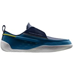 The Breeze from Porsche Design with in-sole drainage system and a non-marking, abrasion-resistant rubber out-sole.