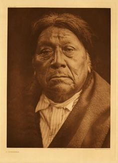 American Indians : A Comanche Man.