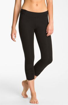 Shirred Capris work out clothes