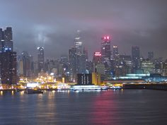 Manhattan in the early morning fog 4.13 from Weehawken NJ