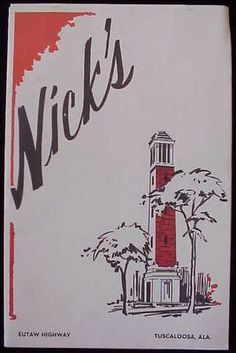 Nick's in the Sticks, Tuscaloosa, AL, still there, still great.