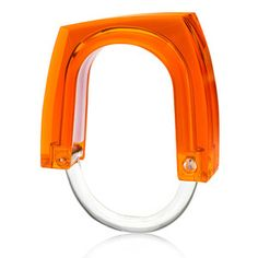 Curtain Rings Orange, $35, now featured on Fab.