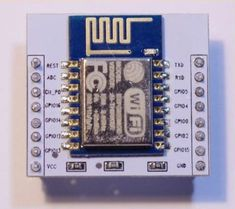 The ESP8266 is a WiFi module that allows you to connect an Arduino or other device to WiFi access points, or even create one.