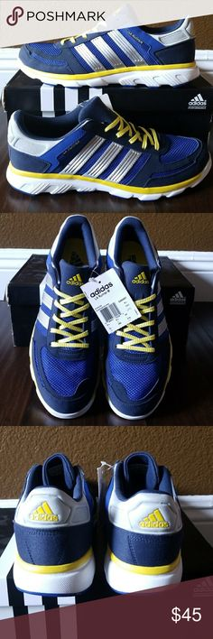 Adidas Running Adidas LA Runner M Blue/Yellow Men's Size: 10 *New With Box adidas Shoes Sneakers
