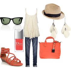 Summer Fun, created by brittanytate01 on Polyvore