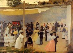 Ball de tarda - Ramon Casas i Carbó - Wikipedia, the free encyclopedia
