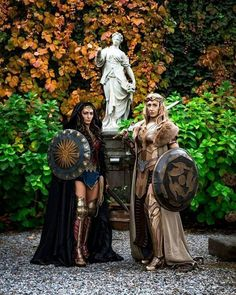 #Cosplayers @lucia_skyy & @ethain_cosplay as #WonderWoman & #Hippolita in this epic shot. #cosplay Ph: @mattialunardiphoto Visit Sharemycosplay.com for more cosplay #dccomics #comicbooks #justiceleague #comics #submission #fb #tb...