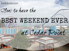 A Cedar Point vacation is a midwestern tradition! My husband and I have compiled 13 tips to have the BEST TRIP EVER at Cedar Point. Weekend Trips, Vacation Trips, Dream Vacations, Vacation Ideas, Summer Travel, Time Travel, Cedar Point Ohio, Sandusky Ohio, Go Usa