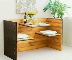 Pallet Projects : Breakfast Bar Made From Pallets