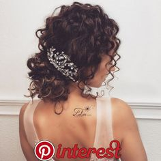 Pin by Allee Cushman on Hairstyles ❤️ in 2019 Pin by Allee Cushman on Hairst. - Pin by Allee Cushman on Hairstyles ❤️ in 2019 Pin by Allee Cushman on Hairstyles ❤️ in 2019 - Curly Bridal Hair, Ombre Curly Hair, Ombre Hair Color, Short Curly Hair, Curly Hair Styles, Natural Hair Styles, Updo Curly, Wedding Hairstyles For Curly Hair, Curly Wedding Updo